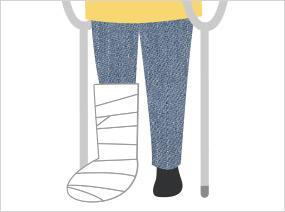 腰椎・大腿骨骨折